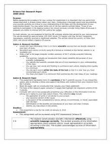 Science Fair Essay exles of scientific research papers