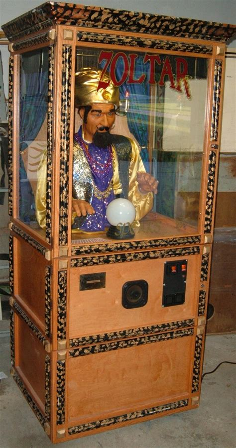 Zoltar A Novelty That Tells Your Fortune And Costs A Small Fortune by Zoltar Mechanical Fortune Teller The Name Is The Same