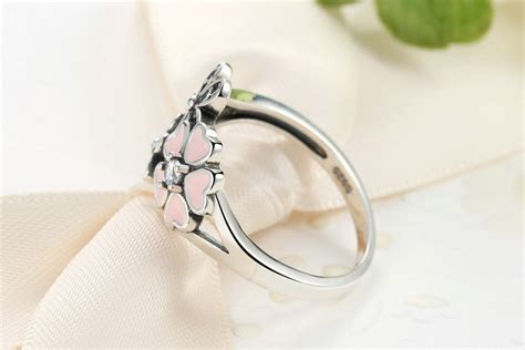 Gelang Batu Power Bracelet Batu Cherry Quartz 1 cincin wanita cherry blossom size 6 pink