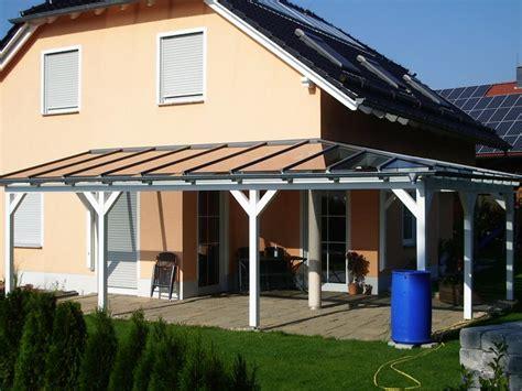 holz pergola mit glasdach terrassen 252 berdachung mit glas selbst bauen mit verlegeprofile