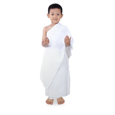 Baju Ihram Anak Anak jual kain ihram manasik haji umrah anak tk murah bajuyuli