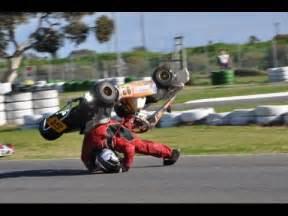 go gart go kart crash compilation 2