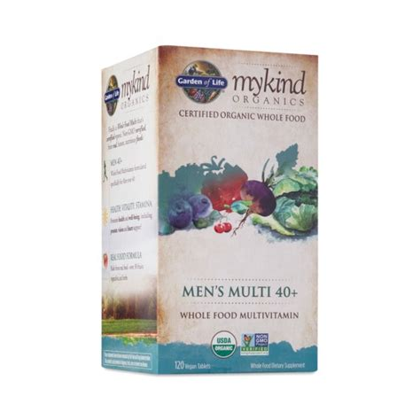 Garden Of Organics S Multi 120 Ct Mykind Organics S Multi 40 Vitamin Thrive