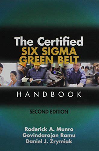 Pdf Six Second Season by Pdf The Certified Six Sigma Green Belt Handbook Second
