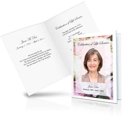 funeral and memorial cards landing page