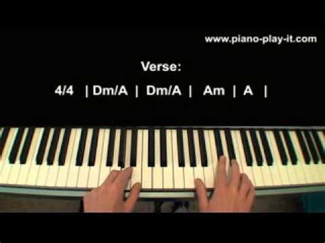 tutorial piano grenade bruno mars grenade piano tutorial youtube