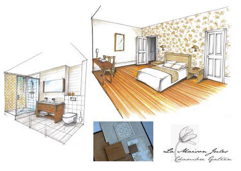 dessin chambre la maison jules