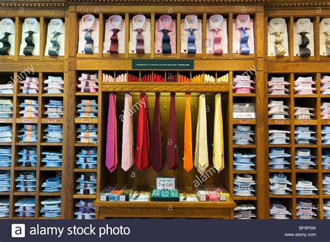 Shelf Shopping by S Shirts And Ties On Shelves In T M Lewin Clothes