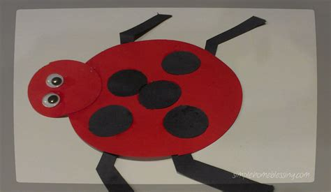 Ladybug Craft Simple Home Blessings