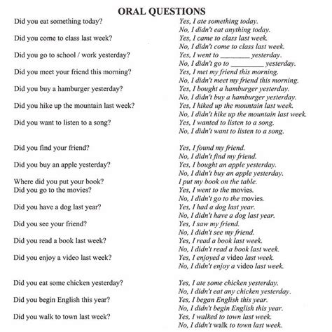 past tense questions worksheet past tense questions esl worksheet 688 free esl tenses worksheetssimple past tense printable