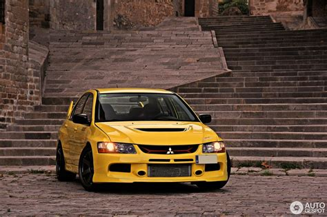 mitsubishi lancer evolution mitsubishi lancer evolution ix mr 6 september 2016
