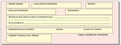 ejemplos de un recibo de dinero 191 qu 233 es un recibo ayuda de cu 233 ntica