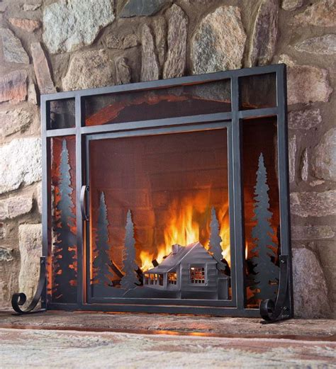 Rustic Fireplace Screen by 1000 Images About Rustic On Rustic Bathrooms