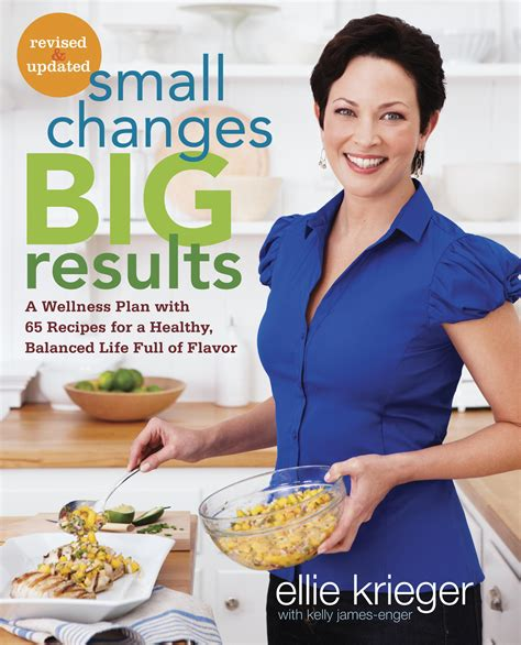 cooking with chagne small changes big results ellie krieger