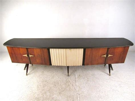 large mid century modern italian rosewood sideboard for