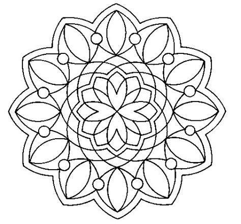 color image online desenho de mandala 3 para colorir colorir com
