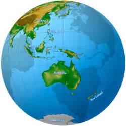 globe l oceania maps