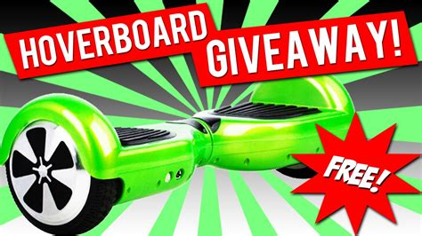 Free Hoverboard Giveaway - self balancing 2 wheel smart electric scooter hands