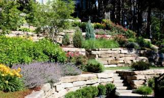 Backyard Slope Landscaping Ideas Sloped Front Yard Landscaping Ideas Images