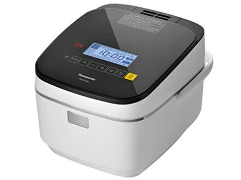 induction heater panasonic panasonic sr afg186 10 cup uncooked induction heating system rice cooker 1 8 l white