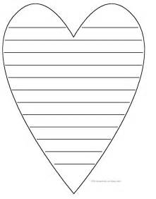 Heart Writing Paper Activities Crafts And Cards For Valentine S Day