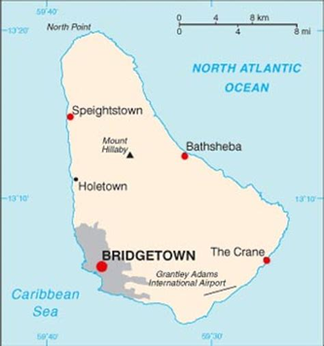 5 themes of geography barbados barbados latitude longitude absolute and relative
