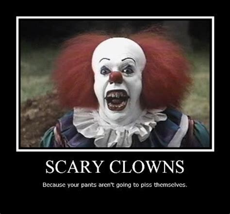 go to bed clown pennywise the clown funny scary clowns celebrities and