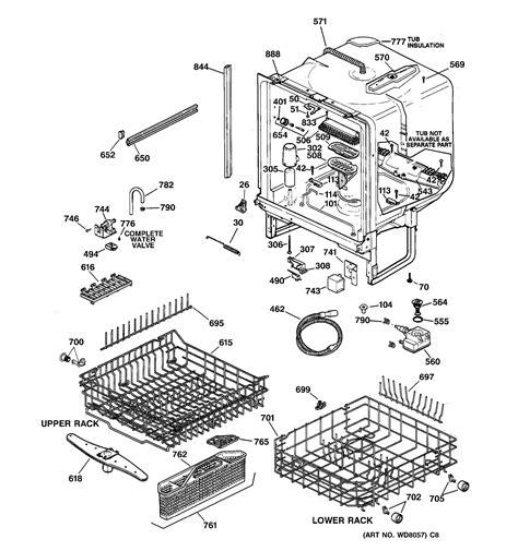 ge profile dishwasher diagram model search gsd5310d02aa