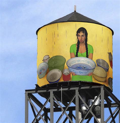 How To Make A Water Tower With Paper - the water tank project