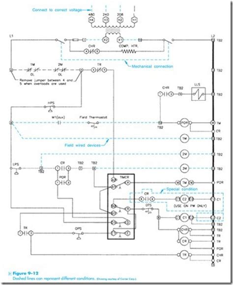 how to read hvac schematic diagram efcaviation