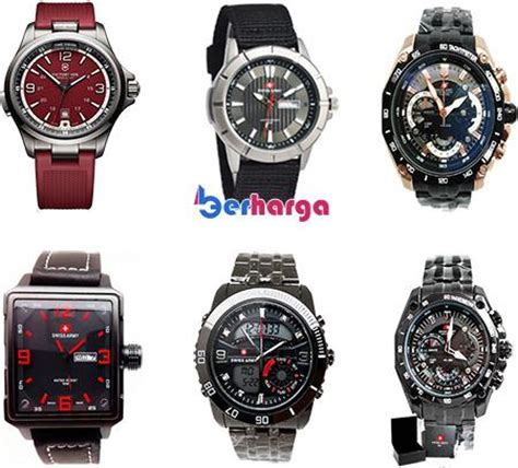 harga jam tangan swiss army original terbaru april 2018