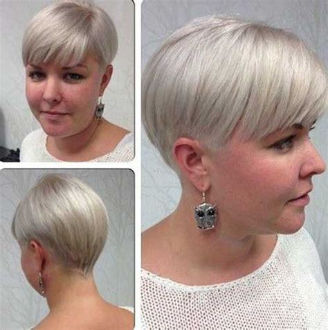 short stacked bob for fat women stacked bob short wavy hair growing out the pixie short