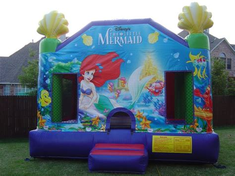 mermaid house bounce houses in dallas tx rental of bounce houses in dallas
