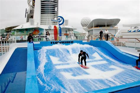 Backyard Flowrider by Royal Caribbean Oasis Of The Seas So Many Things To Do