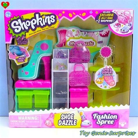 Shopkins Fashion Spree new season 3 shoe dazzle playset shopkins