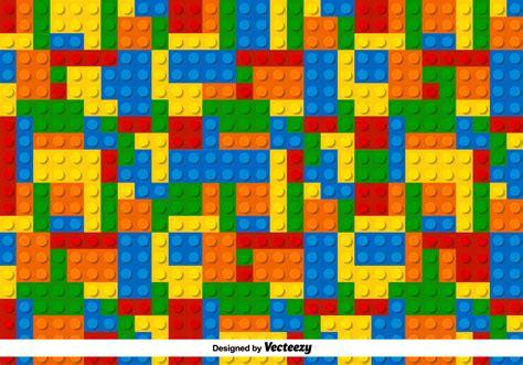 multicolor lego vector pattern   vector art
