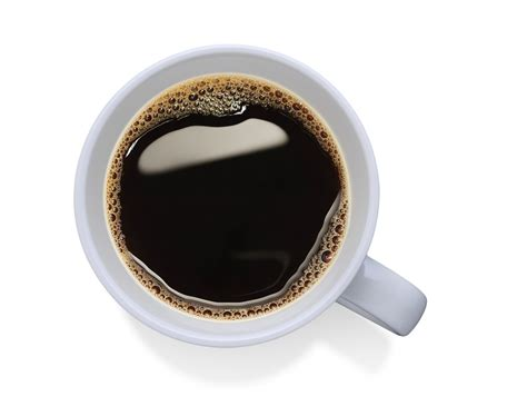 top of coffee cup coffee cup top view png
