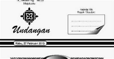 pusat undangan indonesia contoh undangan tasyakuran