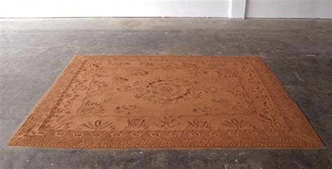 rug and carpet of oklahoma artist creates intricately patterned rugs from oklahoma s dirt mijn plekkie