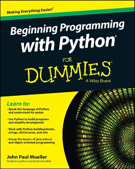 begin to code with python books beginning programming java dummies