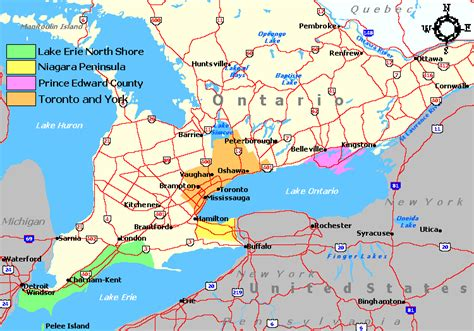 Ontario Canada Search Lake Erie Map Canada My