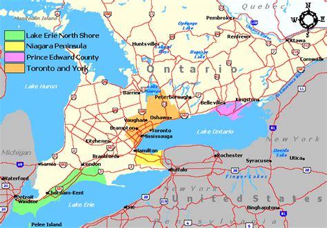 Ontario Search Wine Regions Of Ontario