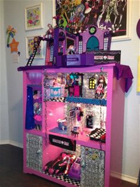 homemade monster high doll house 1000 ideas about monster high house on pinterest monster high monster high dolls