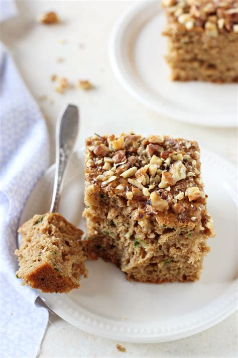 whole grain zucchini bread with honey and walnuts zucchini bread with applesauce and honey