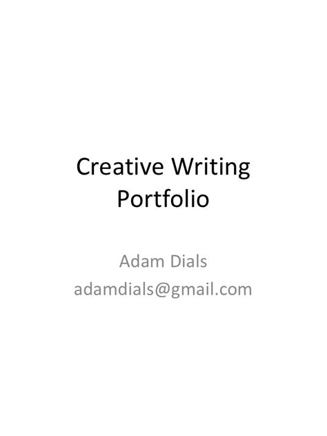 cover letter creative writing creative writing portfolio