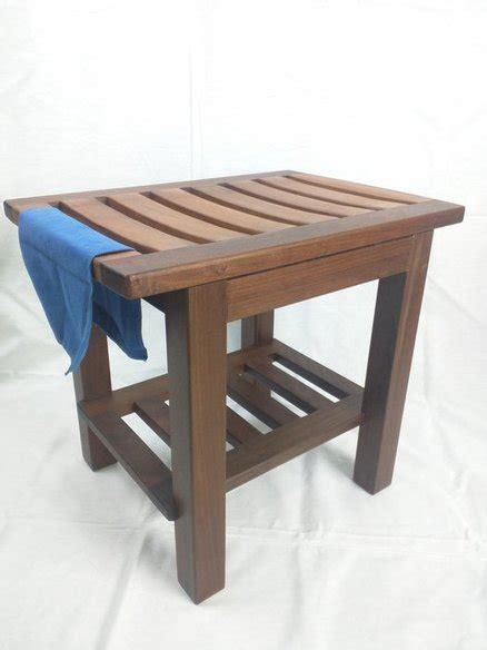ipe wood bench ipe shower bench by darryl jones lumberjocks com