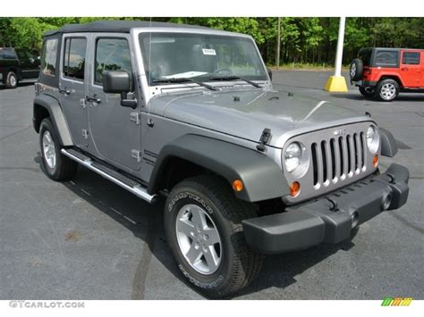 jeep metallic 2013 billet silver metallic jeep wrangler unlimited sport