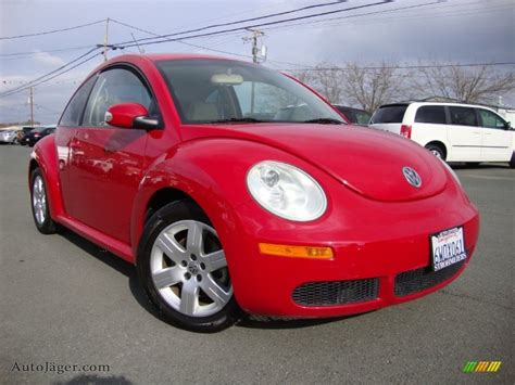 volkswagen new beetle red 2007 volkswagen new beetle 2 5 coupe in salsa red 502801