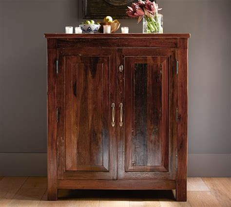 Pottery Barn Cabinet Bowry Bar Cabinet Pottery Barn