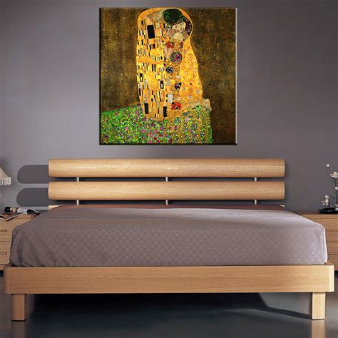 original home decor original famous paint the kiss by gustav klimt wall painting for home decor oil painting art